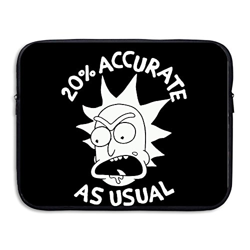 custom-fashion-rick-and-morty-20-accurate-as-usual-shock-resistant-laptop-protective-cover-bag-13-in
