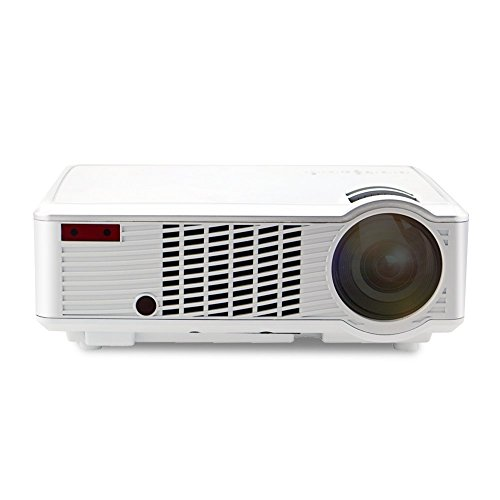 Projector (warranty included),Xinda 2000 Lumens LED LCD Video Projector Full HD 1080P Portable Mini Multimedia Projector with HDMI VGA AV USB AUDIO Input for Home Video Movie Bussiness Meeting