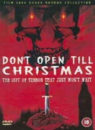 Dont Open Till Christmas.Don T Open Til Christmas 1984 Dvd Amazon Co Uk Edmund