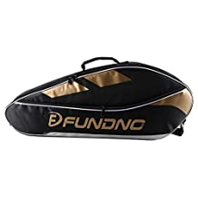 Classic BLACK Badminton Equipment Bag Badminton Racket Bag Shoulders Bag
