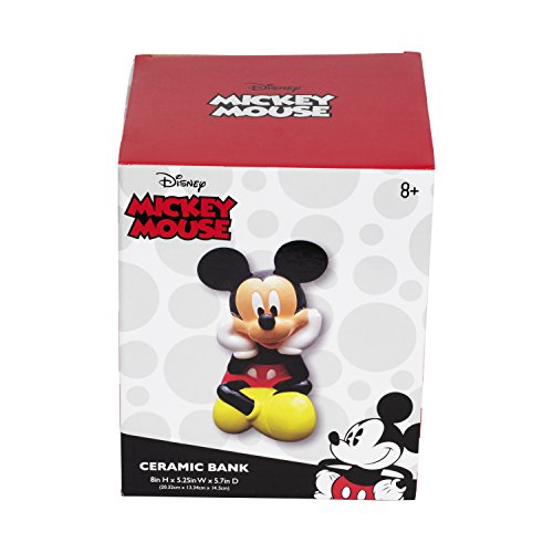 Disney Mickey Mouse Ceramic Coin Bank
