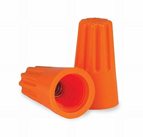 Choice Nut - King Innovation 2 Pack 67031 Contractors Choice Nut Wire Connector 500/Bag, Orange