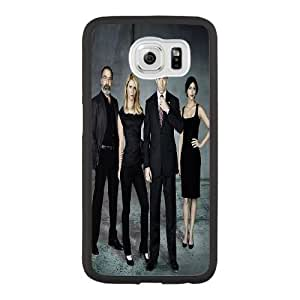 Generic Fashion Hard Back Case Cover Fit for Samsung Galaxy S6 Cell Phone Case black Homeland with Free Tempered Glass Screen Protector EUI-8473448