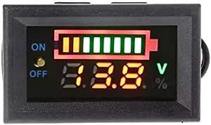 12-volt battery meter