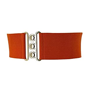 FASHIONGEN – Cintura donna 7,50 cm larga e Elastica, fatto in Francia, GLORIA