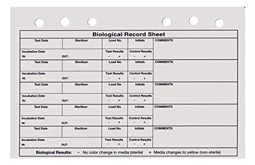 SPS SporView Record Notebook Refills-Small