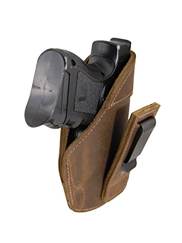 New Barsony Brown Leather Tuckable IWB Holster for FNS 9m...