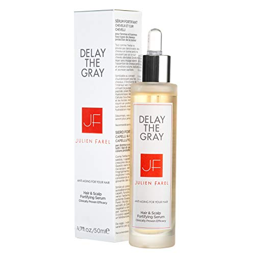Julien Farel Magnifique Delay The Grey Hair & Scalp Serum, 1.7 Fl Oz – SLS & Paraben Free – Best for Normal, Fine, Thinning, Damaged and All Hair Types, As Seen on The View
