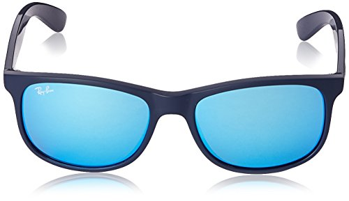 Matte On 4202 Ray RB ANDY Azul Blue Ban Sonnenbrille Shiny Top AwZwxz8q