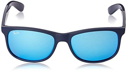 Shiny Ban Ray unisex Gafas Top Blue sol de Azul On Matte xqdwTdYS