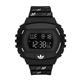 adidas Originals Unisex blanco y negro digital reloj York - adh6122: Amazon.es: Relojes