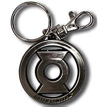 Green Lantern Logo Pewter Key Ring