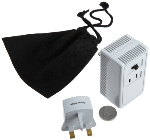 Design Go Luggage Worldwide Adaptor Kit And Converter