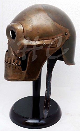 MEDIEVAL ARMOR GERMAN PICKELHAUBE STEEL /& BRASS Free Helmet Stand