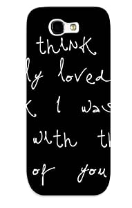 Fashionable Style Case Cover Skin For Galaxy Note 2- Amazing With Quotes