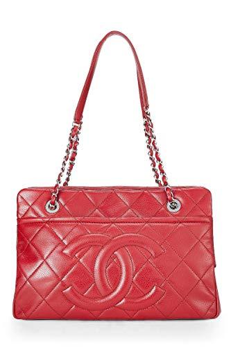 Red Chanel Handbag - 5