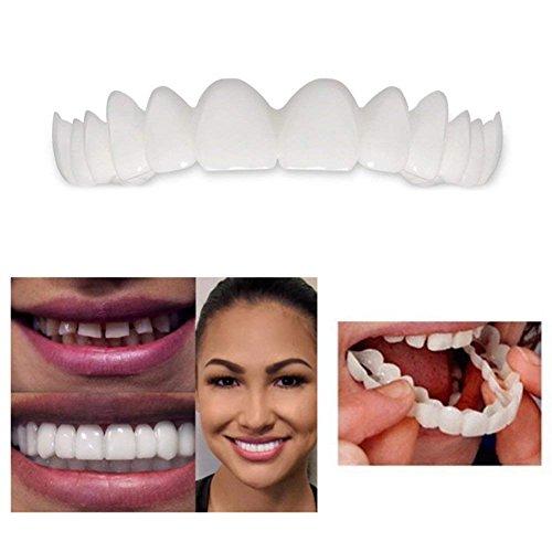 LeSB Instant Smile Teeth Teeth Whitening Denture Cosmetic Teeth - Aesthetic  Dentistry Snap On Smile Instant Smile Comfort Fit Flex Cosmetic Denture
