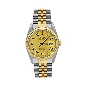 Best Epic Trends 41W5bMKQ2RL._SS300_ Rolex Datejust 36 16013 White Dial (Certified Preowned)
