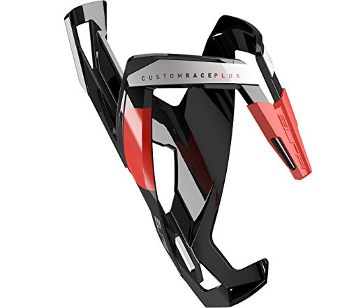 Elite Water Bottle Cages - Elite 0140601 Custom Race Plus Water Bottle Cage, Black/Red