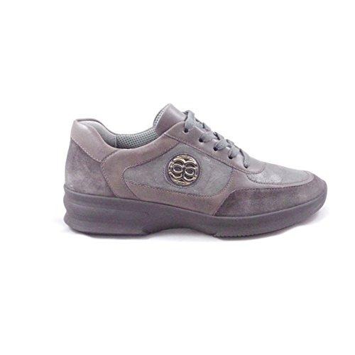 ara 12–43201de Montreal marrón piel y nobuck cordones zapato diario marrón