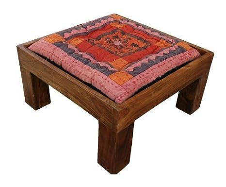 Amazon De Guru Shop Bodentisch Mit 4 Hockern Sitzkissen