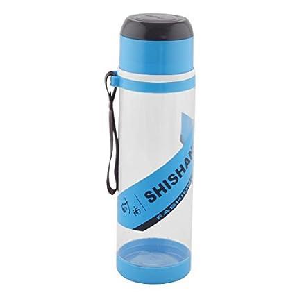 eDealMax plástico desmontable Camping colador de té Deporte Botella de agua de la Taza de 760ML