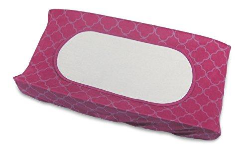 Boppy-Changing-Pad-Set-Raspberry-TrellisPink