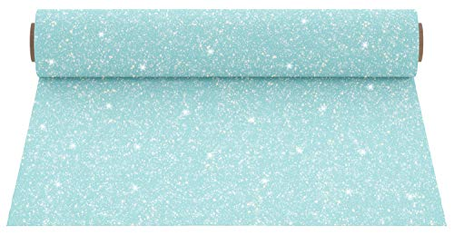 - Firefly Craft Glitter Pastel Baby Blue Heat Transfer Vinyl | Glitter HTV Vinyl | Pastel Baby Blue Glitter Iron On Vinyl for Cricut and Silhouette | Heat Press Vinyl for Shirts - 12