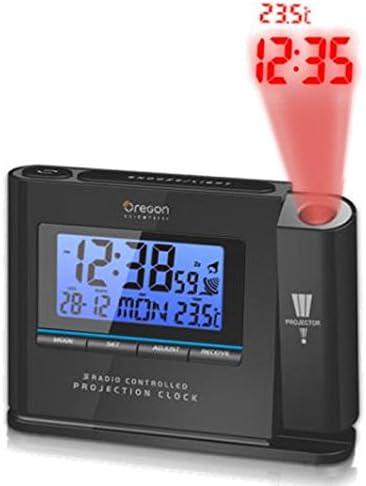Oregon Scientific Reloj Despertador con Proyección de IWA80135 ...