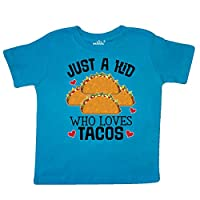 inktastic Taco Lover Mexican Food Toddler T-Shirt 3T Turquoise