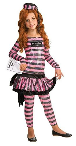 [Detention-Ista Rubies Halloween Costume For Children Detention Prisoner] (Plus Size Ruby The Pirate Beauty Costumes)