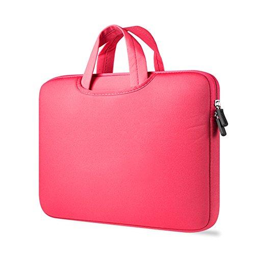 Maletín Para Ordenador Portátil Funda Protectora Maletín Bolso Para Macbook Laptop Rose