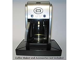 Amazon Com Justin Case Countertop Coffee Station Black
