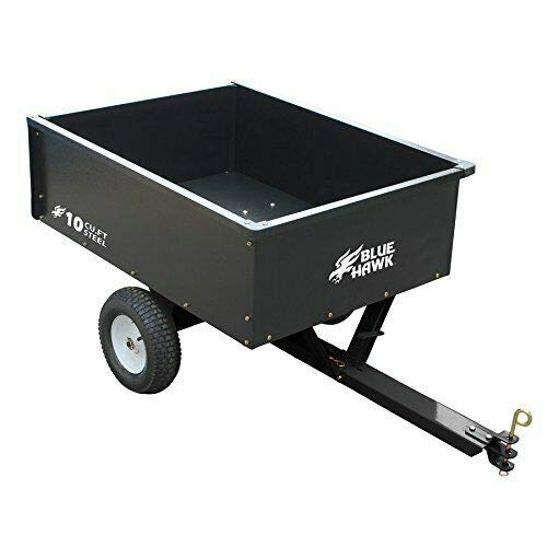 Blue Hawk 10-cu ft Steel Dump Cart - 400lb Capacity