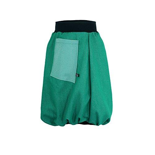 GLOBO aerostático Rock pauliz–Verde Mujer Rock de jeans