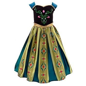 Dress Frozen Disney Costume For Coronation Store's Authentic Anna oerCBWdx