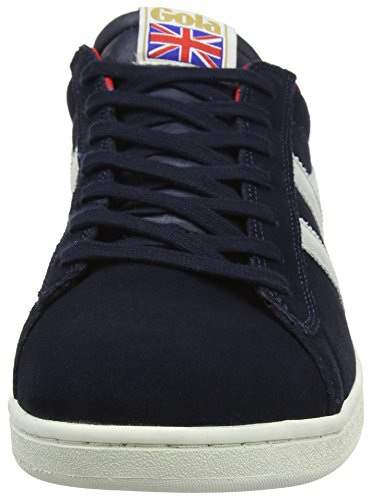 Gola Suede Mens Gola Sneaker Navy Red Fashion Mens White Equipe SF5qwIq