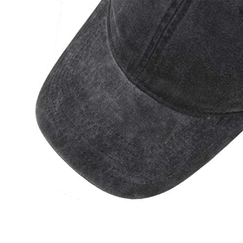 52418e960d5 HH HOFNEN Unisex Washed Twill Cotton Baseball Cap Vintage Adjustable Dad Hat