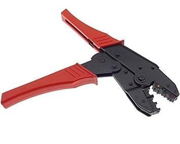 Innovativ Crimpzange Zange Quetschzange Kabelschuhe bis 6mm²: Amazon.de  MH08