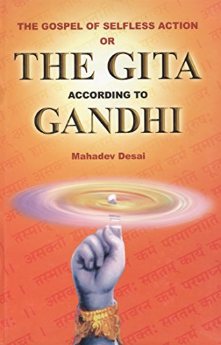 The Gospel of Selfless Action OR The Gita according to GANDHI image