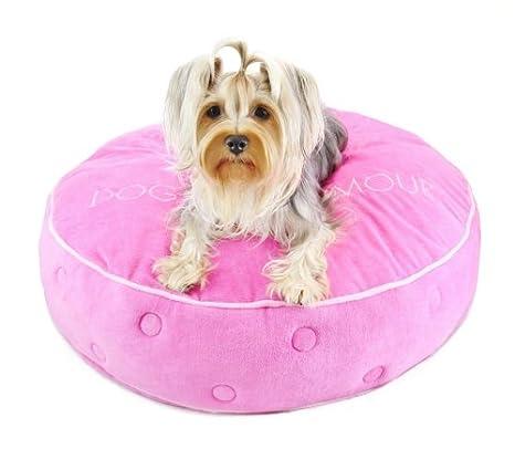Amazon.com: Perros de glamour Ronda Glam Corona cama, color ...