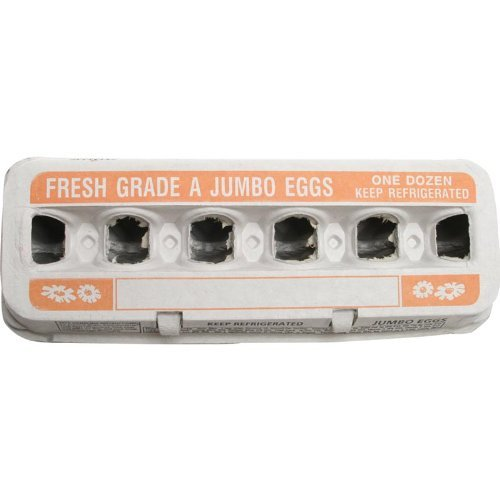 Jumbo Egg Cartons - 200 Count