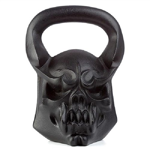 54 lbs Demon Exercise Kettlebell - Crossfit, HIIT Kettlebell for Strength |  54 lbs Forearm & Fitness Kettle Weights by Gorilla Fitness