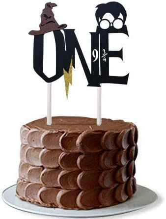Tremendous Amazon Com New Design Harry Themed Handmade First Birthday Cake Funny Birthday Cards Online Inifofree Goldxyz