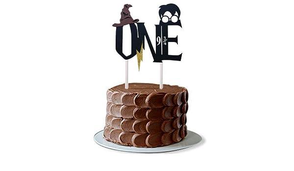 Magnificent Amazon Com New Design Harry Themed Handmade First Birthday Cake Funny Birthday Cards Online Inifofree Goldxyz