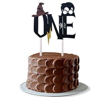 Decoración para Tarta de Primer cumpleaños Hecha a Mano con ...