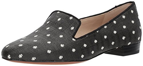 Sam Edelman Womens Jordy Loafer Nero / Bianco
