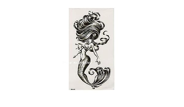 7pcs Piece La etiqueta engomada del tatuaje del dragón chino ...