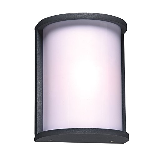 Flush Omni Mount Light - PLC Lighting 2706BZ 1-Light Omnii Collection Outdoor Fixture, Bronze Finish