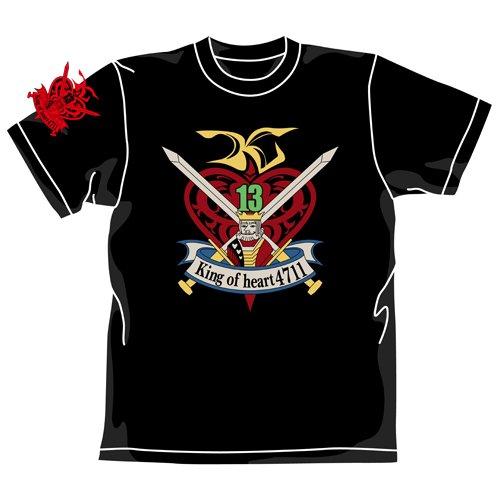 G Gundam King of Heart Tshirt Black (M)